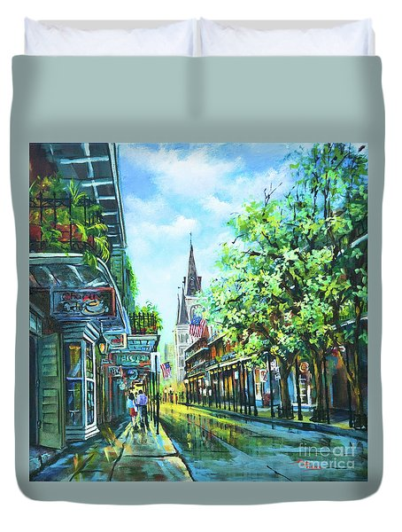 Chartres Afternoon Duvet Cover