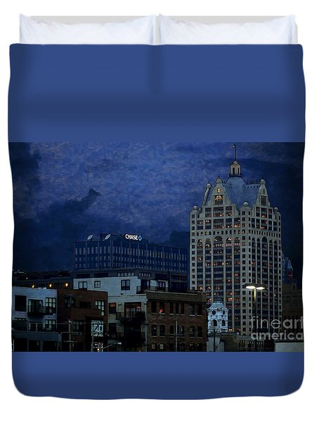 Chase Duvet Cover by David Blank