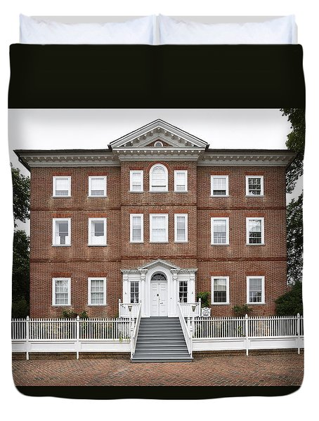 Chase Lloyd House In Annapolis Maryland Duvet Cover