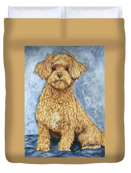 Chase The Maltipoo Duvet Cover