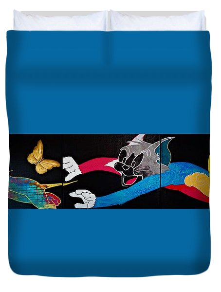 Chase Your Dream Duvet Cover