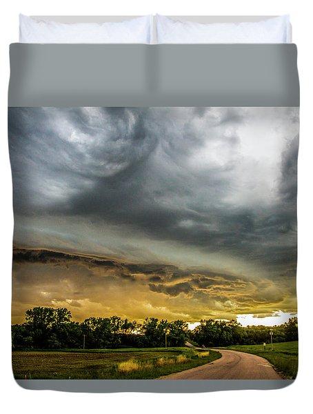 Chasing Nebraska Stormscapes 074 Duvet Cover