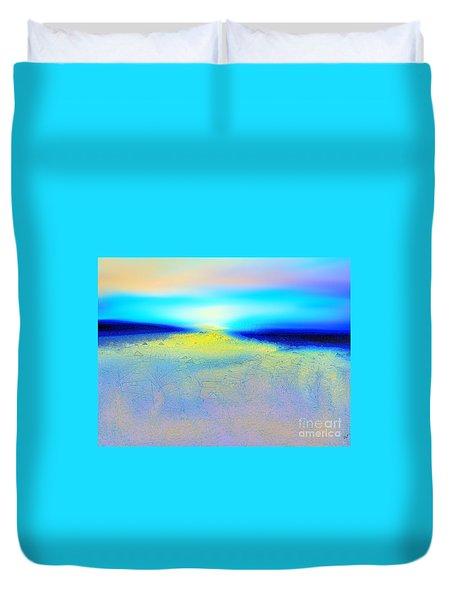 Chasing The Sun  Duvet Cover