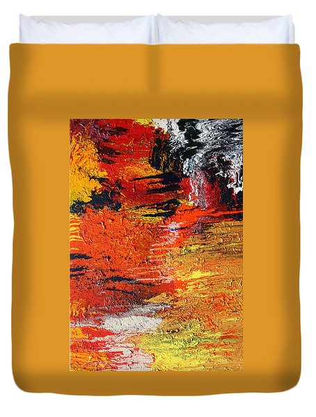 Chasm Duvet Cover by Ralph White