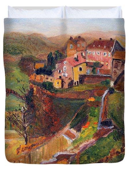 Chateau Chalon Duvet Cover