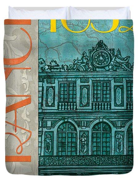 Chateau De Versailles Duvet Cover