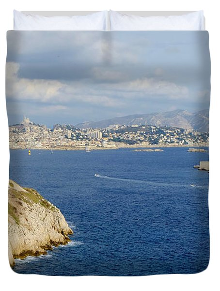 Chateau D'if-island Duvet Cover