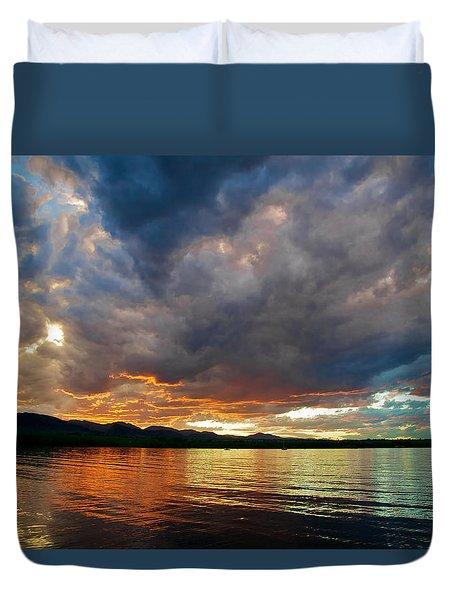 Chatfield Technicolor Sunset Duvet Cover