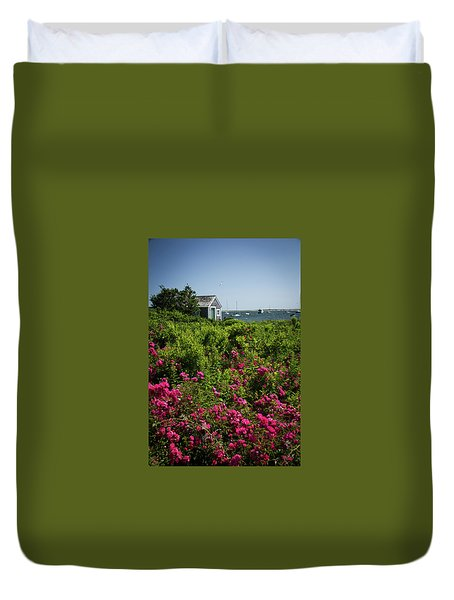 Chatham Boathouse Duvet Cover by Jim Gillen