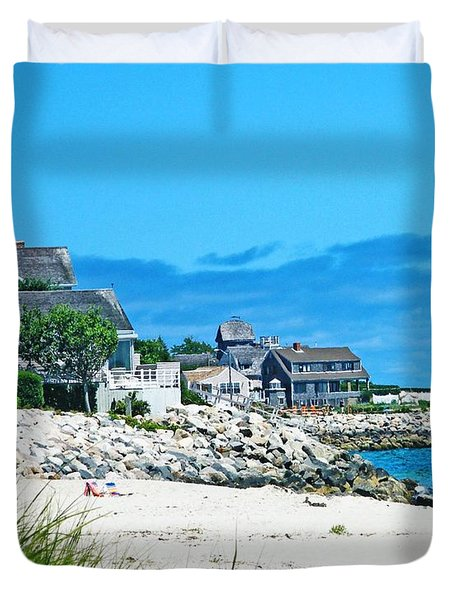 Chatham Cape Cod Duvet Cover by Lizi Beard-Ward