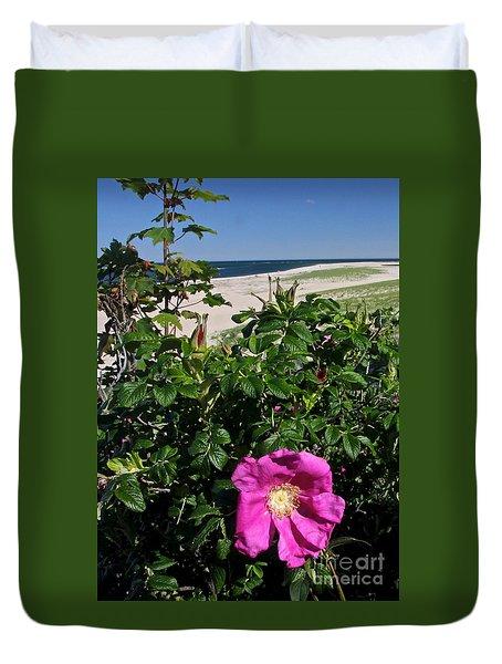 Chatham Flower Duvet Cover by Jim Gillen