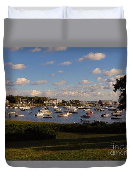 Chatham Marina Duvet Cover