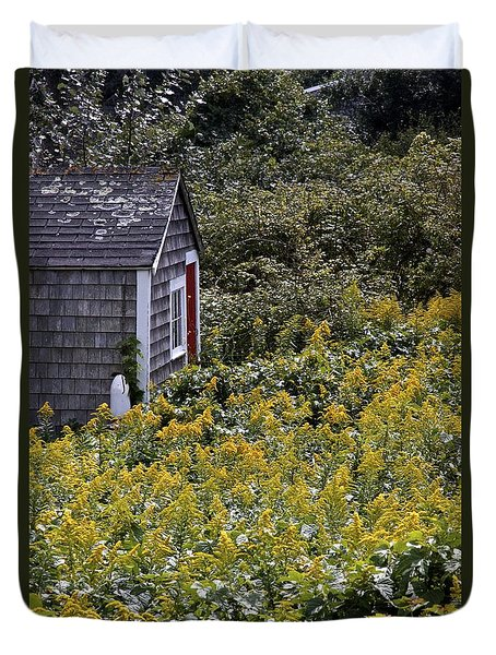 Chatham Shed Duvet Cover by Jim Gillen