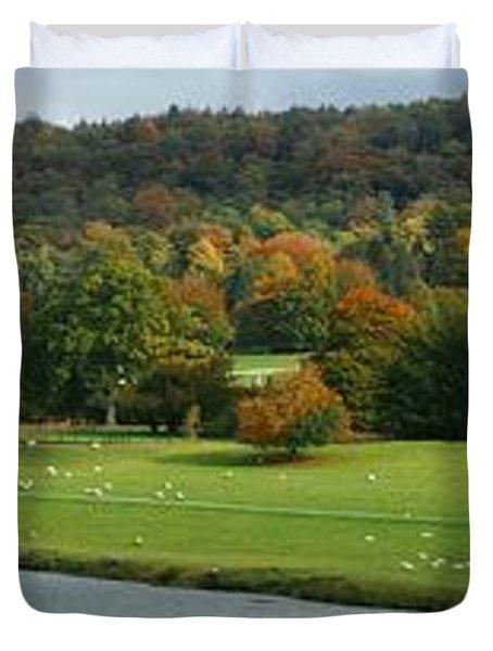 Chatsworth Panorama Duvet Cover