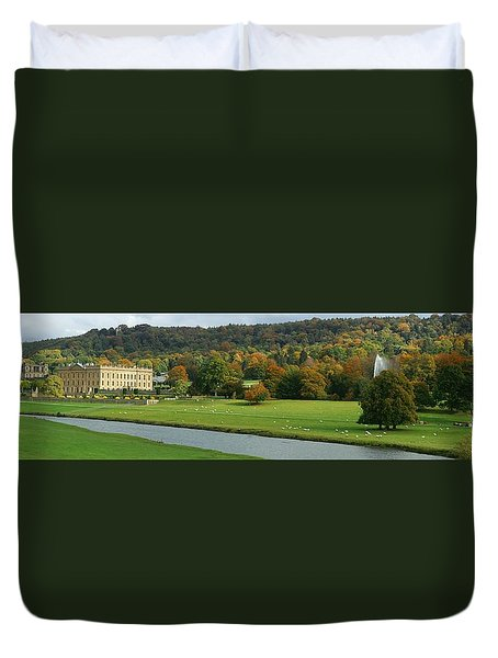 Chatsworth Panorama Duvet Cover