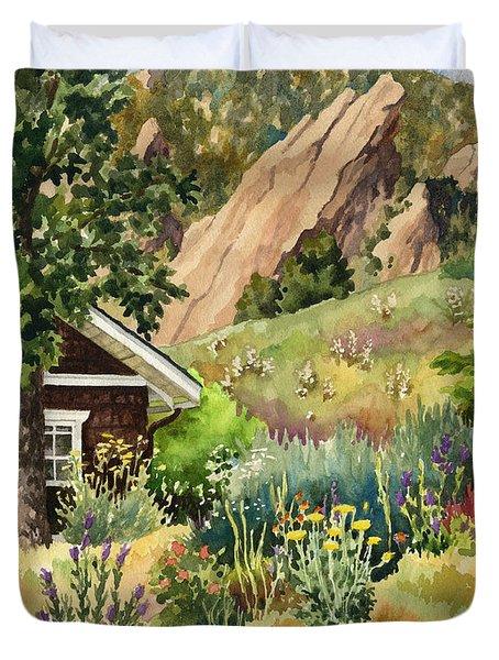 Chautauqua Cottage Duvet Cover