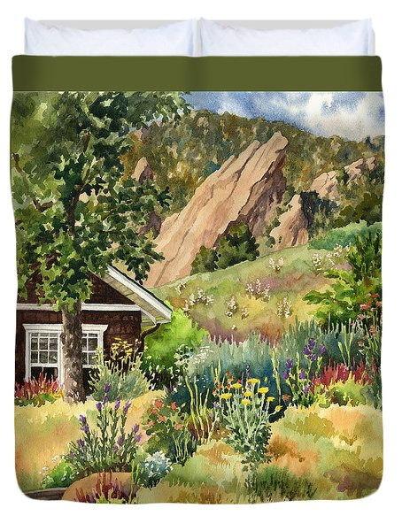 Chautauqua Cottage Duvet Cover