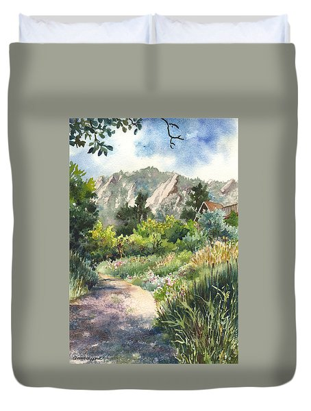 Chautauqua Morning Duvet Cover