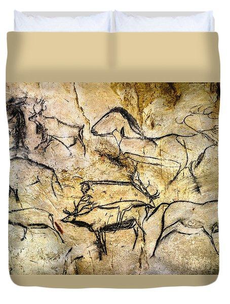 Chauvet Deer Duvet Cover
