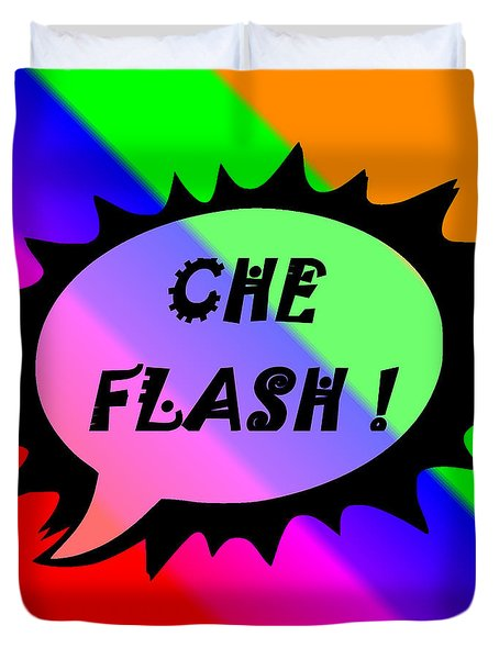 Che Flash Duvet Cover