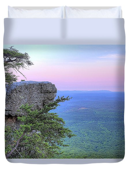 Cheaha The Top Of Alabama Duvet Cover by JC Findley