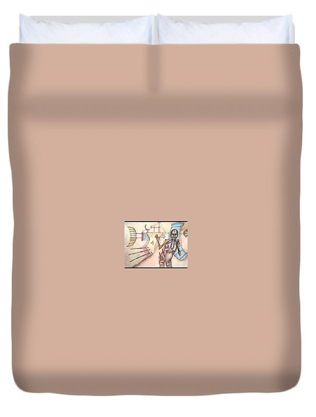 Check Out Paul's New Ride Duvet Cover