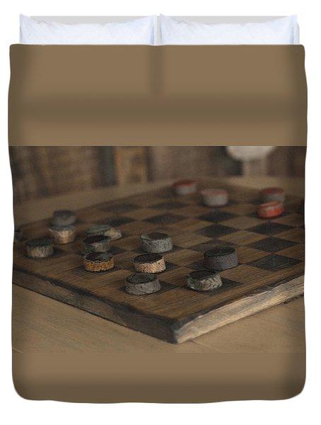 Checker Duvet Cover