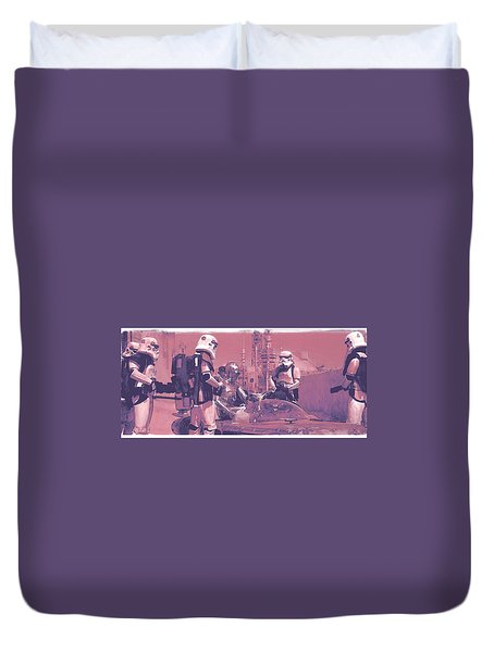 Checkpoint Duvet Cover