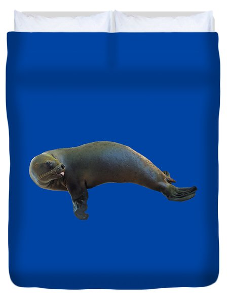 Cheeky Seal Duvet Cover