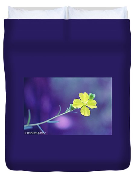 Cheer Up Buttercup Duvet Cover