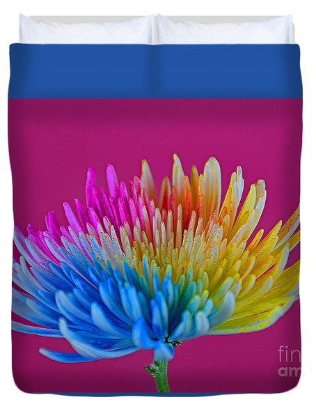 Cheerful Duvet Cover by Ray Shrewsberry