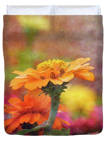 Cheerful Shades Of Optimism 1311 Idp_2 Duvet Cover