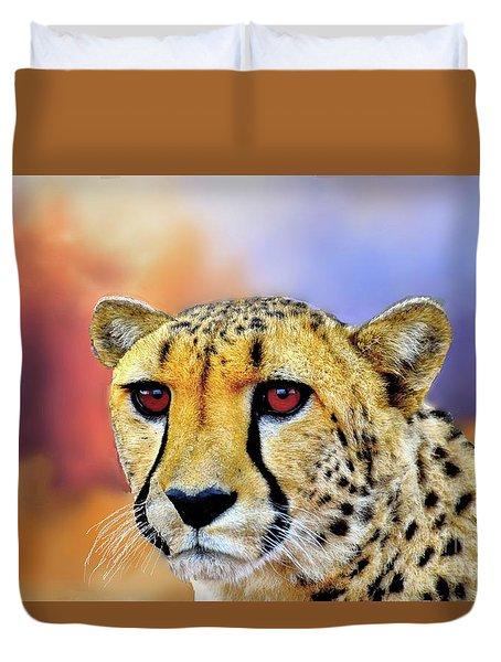 Cheetah Duvet Cover by Janette Boyd