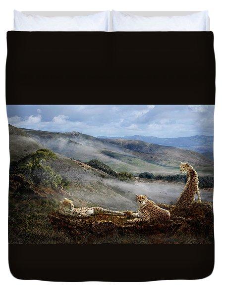 Cheetah Ridge Duvet Cover