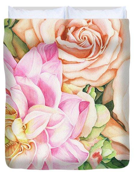 Chelsea's Bouquet Duvet Cover
