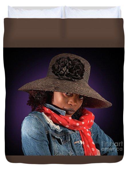 The Colour Purple Duvet Cover