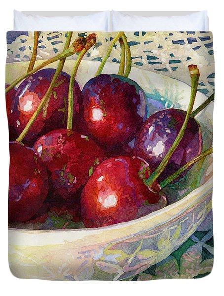 Cherries Jubilee Duvet Cover