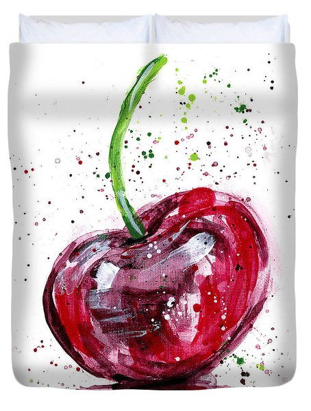 Cherry 2 Duvet Cover
