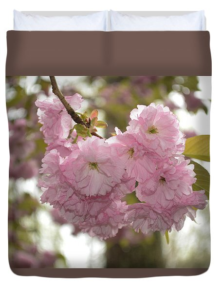 Cherry Blossoms Duvet Cover