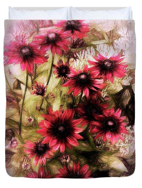 Cherry Brandy Duvet Cover