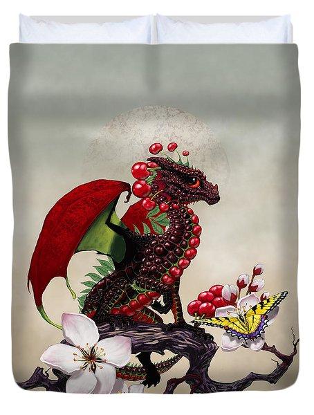 Cherry Dragon Duvet Cover