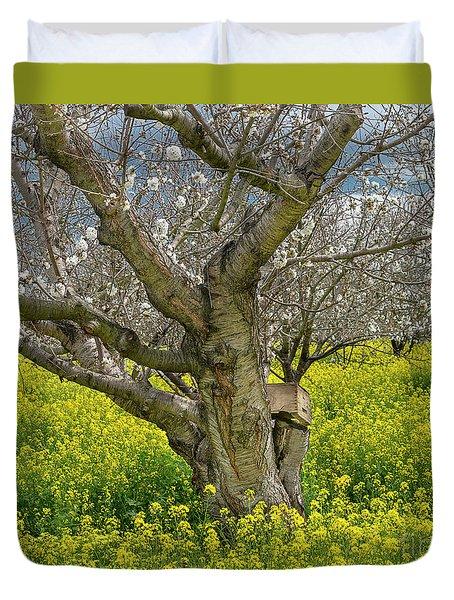 Cherry Orchard 8 Duvet Cover