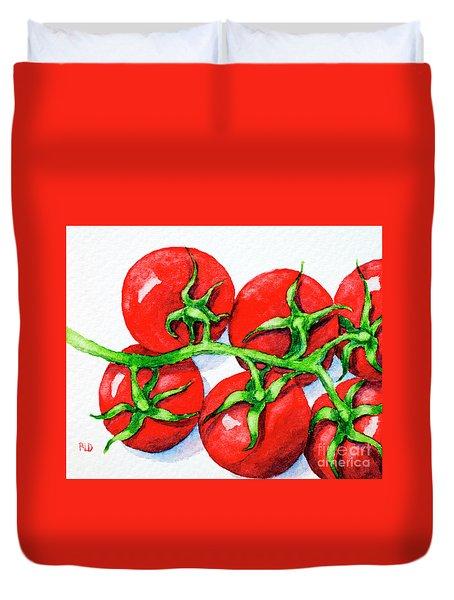 Cherry Tomatoes  Duvet Cover