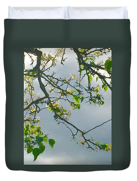 Cherry Tree Hack Duvet Cover