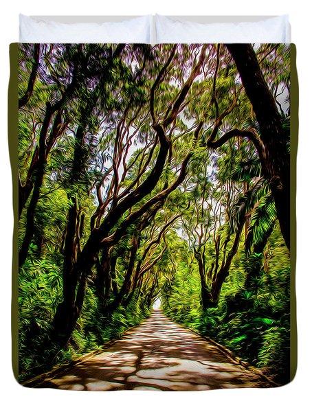 Cherry Tree Hill Duvet Cover