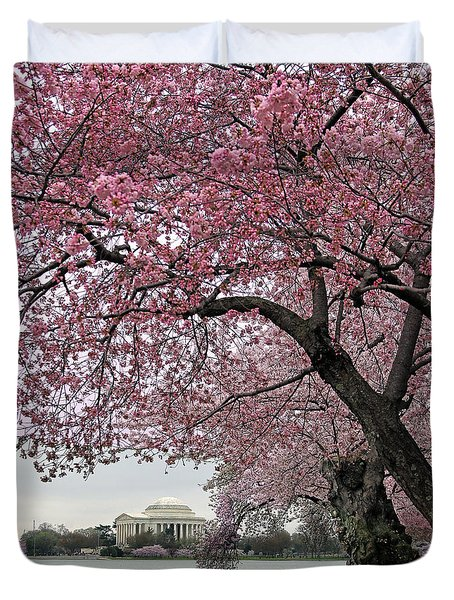 Cherry Trees Duvet Cover