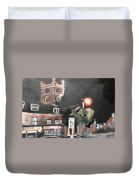 Chertsey At Night 2 Duvet Cover