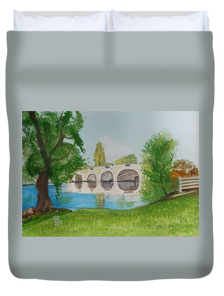 Chertsey Bridge Duvet Cover
