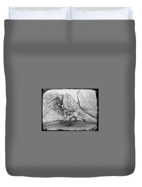 Cherubim Digital Edit Duvet Cover