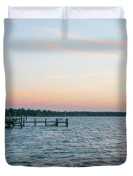 Chesapeake Bay - Piney Point Maryland Duvet Cover